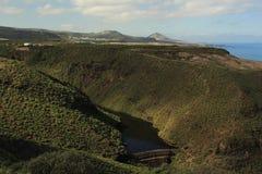 Presa, islas Canarias Imagenes de archivo