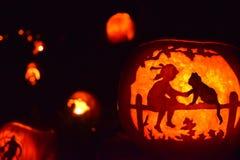 Presa-o-lanterna di Halloween Fotografia Stock Libera da Diritti
