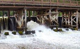 Presa para el agua Foto de archivo