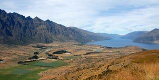 Presa per il cricco, Queenstown, Nuova Zelanda Fotografie Stock