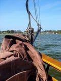 Presail rafa żeglująca obraz royalty free