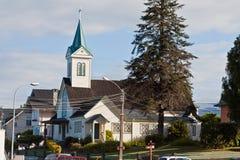 Presbiterian Church in Frutillar Chile Royalty Free Stock Image