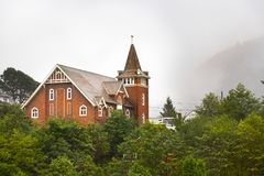 The Presbyterian Church First at Prince Rupert, British Columbia royalty free stock photo