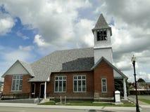 Presbyterian Landmark Church Stock Photography