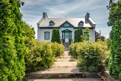 Presbyteriet av Cacouna, Quebec arkivfoto