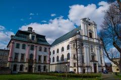 Presbytery Krzeszow, Poland Royalty Free Stock Image