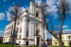 Presbytery Krzeszow, Poland Stock Photos
