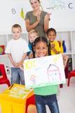 preschool индейца девушки Стоковые Изображения RF