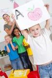 preschool искусства стоковые изображения
