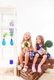 Preschool с заводами Стоковое Фото