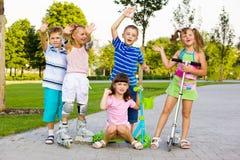 preschool детей Стоковое Изображение