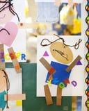 Preschool Art Royalty Free Stock Photos