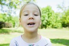 Preschool bez dojnego zębu obraz stock