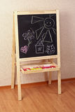 Preschool blackboard Royalty Free Stock Images