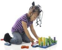 Preschool Block Creation Royalty Free Stock Images