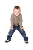 Preschool boy Royalty Free Stock Photo
