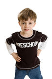 Preschool boy portrait Royalty Free Stock Image