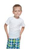 Preschool boy Royalty Free Stock Photos