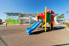 Preschool building Stock Photography