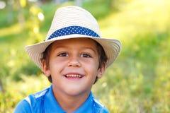 Preschool chłopiec obrazy royalty free