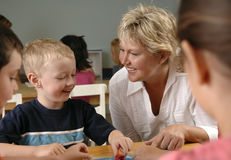 Preschool children Stock Photo