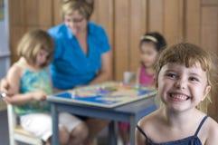 Preschool children royalty free stock images