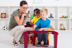 Preschool class Royalty Free Stock Image