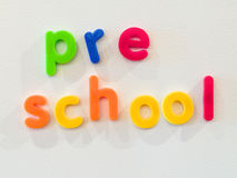 Preschool concept Royalty Free Stock Photo