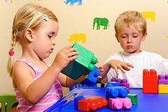 Preschool development Royalty Free Stock Image