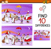 Preschool differences task Stock Images
