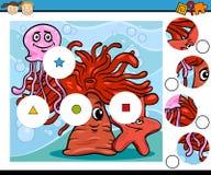 Preschool education cartoon game Stock Photography