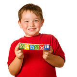 Preschool education concept Stock Image