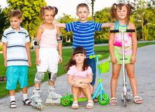 Preschool friends Royalty Free Stock Images