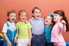 Preschool friends Stock Photo