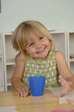 Preschool girl Stock Photography