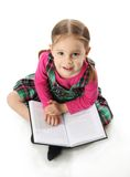 Preschool girl Stock Image