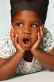 Preschool girl Royalty Free Stock Photography