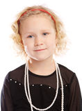 Preschool girl Stock Images