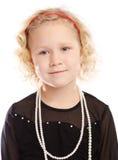 Preschool girl Stock Images