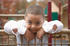 Preschool hispanic boy Royalty Free Stock Photography
