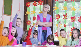 Preschool  kids Stock Photography