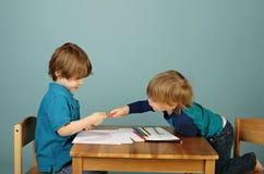 Preschool Kids Education Royalty Free Stock Photo
