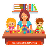 Preschool learning and education Royalty Free Stock Images