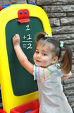 At Preschool Learning Math Royalty Free Stock Photos
