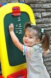 At Preschool Learning Math Royalty Free Stock Photos