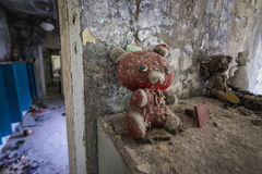 Preschool in Pripyat Royalty Free Stock Images