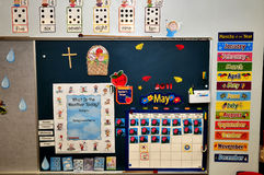 Preschool room. Image of a typical pre-school room Royalty Free Stock Image