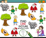 Preschool task for children Stock Photos