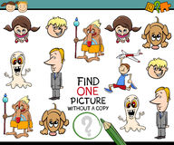 Preschool task for children Royalty Free Stock Photos