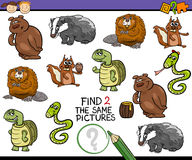 Preschool task for children Stock Images